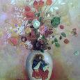 ルドン/日本風の花瓶